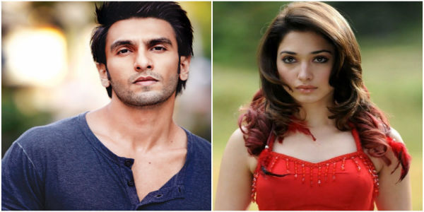 Ranveer Singh and Tamannaah Bhatia To Act In Rohit Shetty's Next
