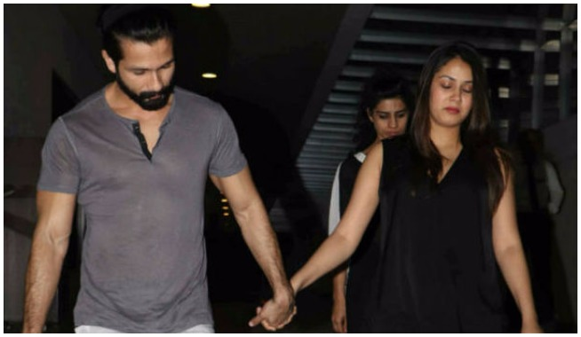 Shahid Kapoor And Wife Mira Rajput On A Dinner Date