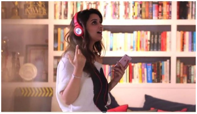 Parineeti Sings in Meri Pyaari Bindu