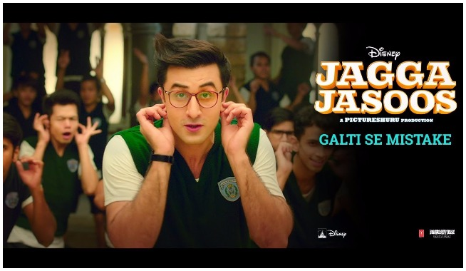 galti se mistake video song, galti se mistake song, galti se mistake, Jagga Jasoos, Jagga Jasoos movie songs, Jagga Jasoos songs, Jagga Jasoos katrina kaif, Jagga Jasoos ranbir kapoor, Jagga Jasoos pritam songs, Jagga Jasoos hindi movie, Jagga Jasoos movie, Jagga Jasoos official songs, mangobollywood, bollywood latest songs, ullu ka pattha, jagga jasoos new song, ranbir kapoor katrina kaif breakup, jagga jasoos release date, ranbir katrina, ranbir kapoor, katrina kaif