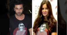 Ex Lovers Ranbir And Katrina,Ranbir And Katrina Wearing Same T-Shirts on Friendship Day,Ranbir Kapoor Ex Lover,Ranbir Kapoor Latest News,Katrina Kaif ex boyfriend,Jagga Jasoos Movie,Ranbir Kapoor Next Film,Actress Katrina Kaif Updates,Mango Bollywood,Bollywood Celebs News 2017