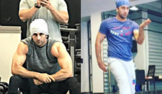Ranbir Kapoor Beefed Look,Sanjay Dutt Biopic Reveals Trainer,Ranbir Beefed Look Not For Sanjay Dutt Biopic,Sanjay Dutt Biopic,Ranbir Kapoor Beefed Still,Mango Bollywood,Latest Bollywood News 2017,Ranbir Kapoor Next Film,Ranbir Kapoor Latest News,Ranbir Upcoming Movie