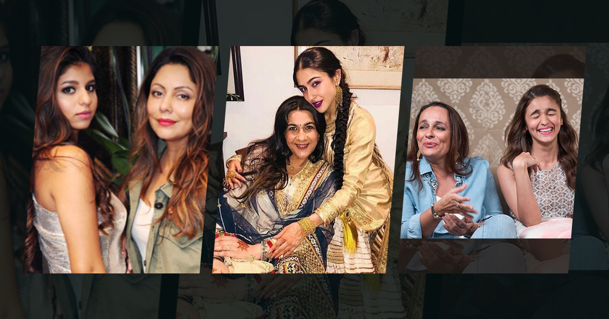 Top 5 Bollywood's Most Stylish Mommy-Daughter Duo!, Stylish Mother-Daughter Jodis Of Bollywood, Bollywood's most stylish mother-daughter duos, Bollywood's Top 5 Most Glamorous Mother-Daughter Duo, Mango Bollywood, Celebs News, Gauri Khan and Suhana Khan, Amrita Singh and Sara Ali Khan, Sridevi and Janhvi Kapoor, Kajol and Nysa Devgan, Soni Razdan and Aliaa Bhatt
