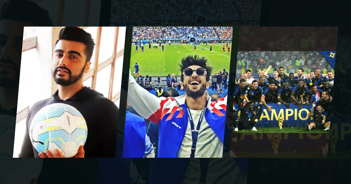 Bollywood Actors Fandom Over FIFA World Cup 2018, Bollywood roots for FIFA World Cup, Fifa World Cup Final, Mango Bollywood, Abhishek Bachchan and Ranbir kapoor at FIFA 2018 World Cup, FIFA 2018 World Cup Fever, Bollywood Celebrity News, Latest Sports News, Bollywood Latest Updates 2018